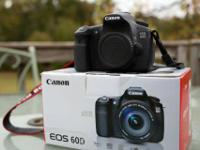 Selling my gently used canon 60d. It's a great camera,