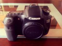 Selling/trading a Canon 60D video camera body.