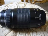 This is not a regular 75-300mm you can buy out there.