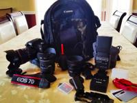 I've updated to a Canon 5D and selling my Canon 7D in