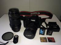 Offering my gently used Canon 7D with the 28-135mm and