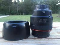 Selling my Canon 85mm L f/1.2 lens. This is an amazing