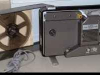 "Very clean working S-400 ""Cine"" projector by Canon. Has"
