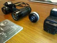 canon a 1 with extra lens if interesited call Jim at