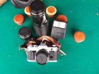 Canon AE-1 serial no. 4246317, good condition, has