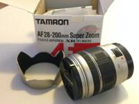 Tamron 28-200mm Super Zoom Lens for Canon Silver -