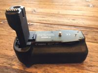 For sale is lightly used Canon Battery Grip BG-E2. In