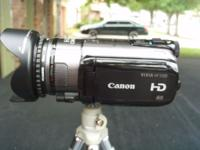 Up for sale is my Canon VIXIA HFS100 camcorder full