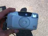 Canon sure shot camera. 60 zoom, 38-60mm zoom lens. $20