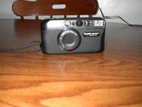 A nifty little 35 mm camera in Gently used condition. A