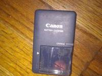 Canon Digital Camera Battery Charger Model No. CB-2LV