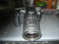 This is a nice camera it is a Canon digital EOS D60.