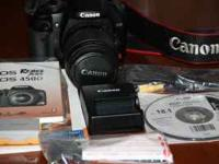 hi i have this camera canon digital xsi like new for $