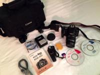 Canon Digital Rebel XSi 12.2 MP Digital SLR Cam with