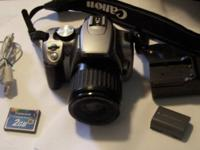 I have for sale a Canon Digital Rebel XT 8.0MP Camera