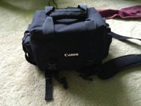 Delicately made use of digital slr bag. Updated to a