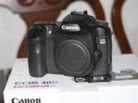 Selling my Canon 40D. This has been a fantastic camera,