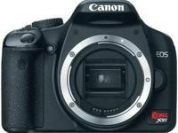 Canon DSLR Rebel Xsi (450D) with EFS 18-55IS Lens Black