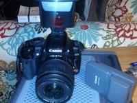 Selling this carefully utilized Canon Digital Rebel