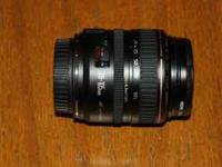 Up for sale is a barely used, mint condition Canon EF