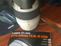 Canon EF 70-200 f2.8 IS USM 1. Great Lens for