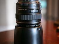 Hardly used. Prefect condition. Aperture Range: