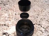 Canon EF 85mm f/1.8 medium telephoto lens for sale in