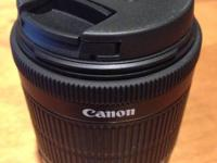 I'm selling my Canon EF-S 18-55mm f3.5-5.6 IS STM lens.