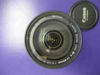 I am Selling a Canon EFS 17-85mm Lens The Glass And