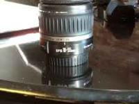 "I have a ""like new"" canon EFS 18-55mm lens with covers"