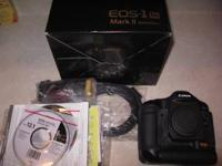I am the original owner of this EOS 1DS Mark II camera.