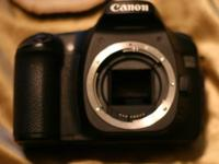 CANON 30D BODY FOR SALE. WONDERFUL CONDITION, A FEW