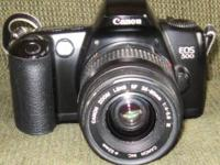selling my CANON EOS 500 film camera with AF lens
