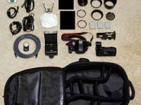 Offering all my Canon EOS 500D / Rebel T1i gear.