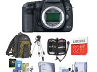 Canon EOS 5D Mark III DSLR Camera Body w/Free Accessory
