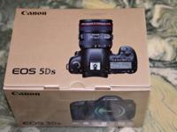 CANON EOS 5DS DSLR CAMERA BODY ONLY. THE 5DS IS BRAND