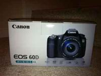 Brand New in Box, call or text Mike at . Canon EOS 60D
