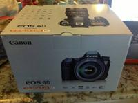 Brand New In Box Never Used EOS 6D body, EF 24-105 f/4L