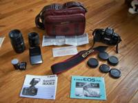 I have for sale a Canon EOS 700 SLR camera with a Canon