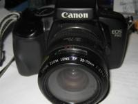 Canon EOS 750 35mm SLR Film Camera, Zoom Lens and