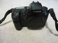 Great condition digital SLR camera. Includes 2 extra