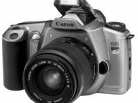 My daughter used this Canon EOS Gii camera in a high