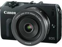 Brand new, Canon EOS-M Mirrorless Digital Camera w/EF-M