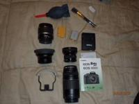 Canon eos rebel 10.1 mp digital camera, includes
