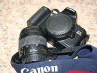 I am selling a 35mm Canon Rebel with a 35-80 lens. It