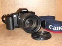 Canon EOS Rebel G - 35mm film camera with Tamron AF