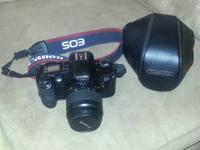 Canon EOS Rebel G Kit, in excellent condition.