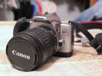 """Canon EOS Rebel K2 with 28-90 lens 35mm Film Camera"""