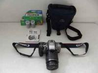 CANON EOS REBEL K2 3000 V, 35 MM CAMERA 28-90 MM ZOOM