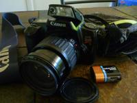 For sale is a Canon EOS Rebel S 35mm film camera (also